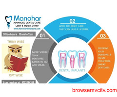 manohar best root canal doctor in vizag