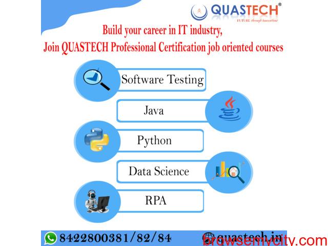 Online Software Testing, Java, Python Course in Thane, Borivali | QUASTECH - 1/1
