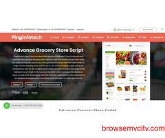 Ready made Grocery Store Script