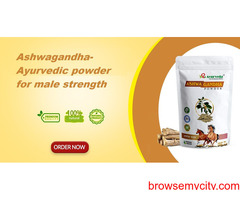 Ashwagandha-Ayurvedic powder for male strength