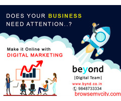 Beyond technologies Digital marketing company in andhra pradesh