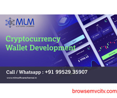 Cryptocurrency Wallet Development-MLM software chennai