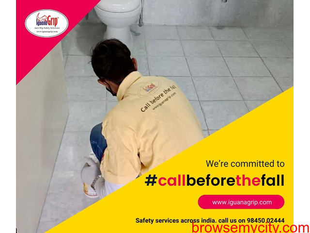 #CallBeforeTheFall providing #antislip #safety services for #bathrooms across #India - 1/1