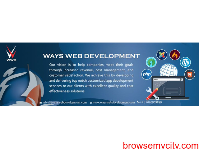 Web design, Web developer and App design – Ways Web Development (One Stop Solution) - 2/3