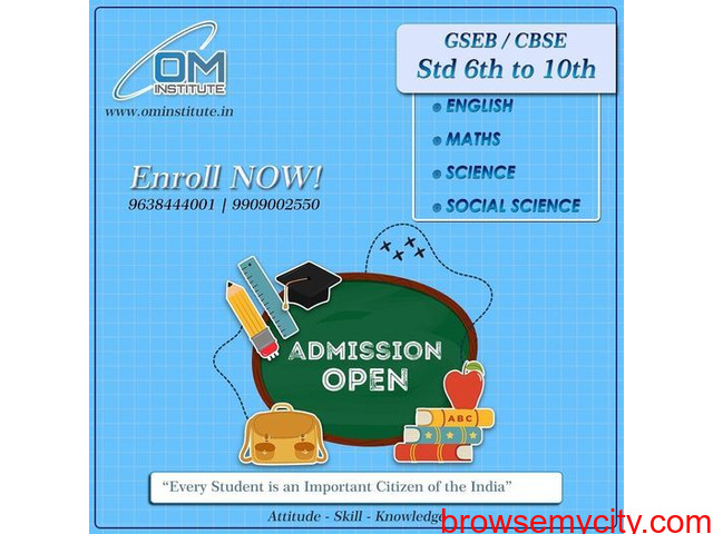Science, Maths Coaching Classes and Physics, Chemistry, Maths, Science Class School | Om Institute - 1/1