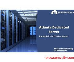Order Now User-Friendly Atlanta's Dedicated Server on Serverwala