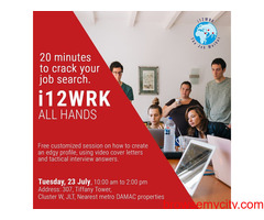 Fresher Job In Bangalore- i12wrk.com