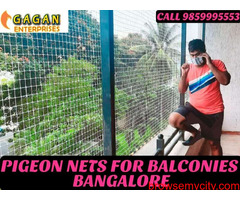 Gagan Pigeon nets   pigeon nets for balcony in bangalore