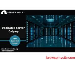 Get the 100% Uptime Guarantee Calgary's Dedicated Server on Serverwala