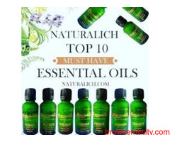 Natural and Pure Essential Oils : NATURALICH