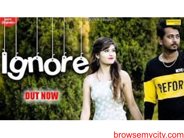 Watch Latest Haryanvi Song Video – 'Ignore' Sung By Vishal Singh - 1/1
