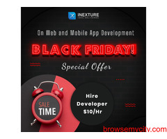 Black Friday Deal : Mobile and Web Development @ 10 USD / hour