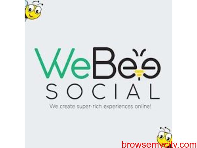 WeBeeSocial : Creative Digital Agency or Marketing Company in Delhi - 1/5