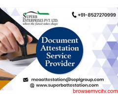 Ministry of External Affairs Attestation