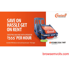 Cleanland Parking Lot Sweeper Rental
