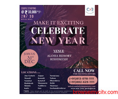 New Year Packages 2021 in Aloha Resort Rishikesh