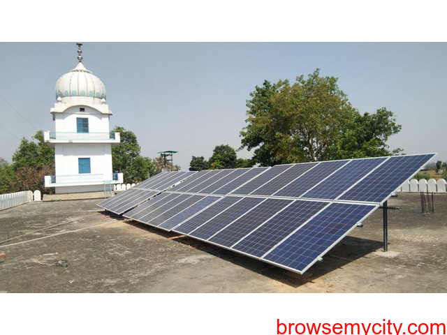 Best On Grid Solar Power Plant Trader and Supplier In Ludhiana, Punjab - 1/1