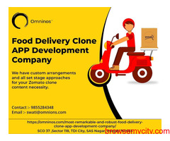 Food Delivery Booking Clone APP Development Company in Chandigarh| Omninos