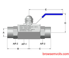 Leading High Pressure Ball Valves Manufacturers In India | Dawsontech
