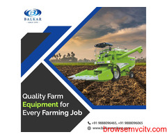 Track Combine Harvester Manufacturers and Suppliers - Balkar Combines