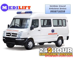 Avail Medilift Ambulance in Samastipur with Medical Support