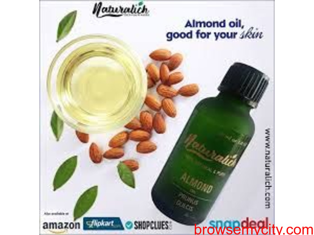 Only The Natural One Naturalich Almond Oil - 1/1