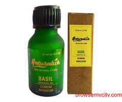 Choose Naturalich Basil Essential Oil for Healthy Skin and Hair