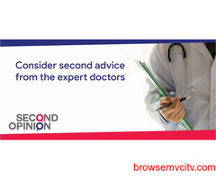 Second medical opinion from expert doctors