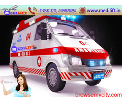 Outstanding ICU Ambulance Service in Ranchi by Medilift