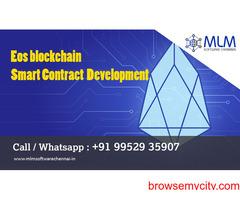 EOS Blockchain  SmartContract  Development- MLM Software Chennai