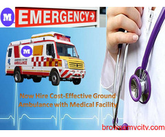 Book Medilift Cost-Effective Ambulance Service in Ranchi with Doctor