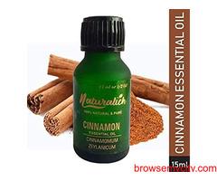 Buy Now Naturalich Cinnamon Essential Oil