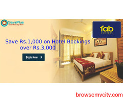 Save Rs.1,000 on Hotel Bookings over Rs.3,000