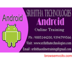 Android Online Training Institute India