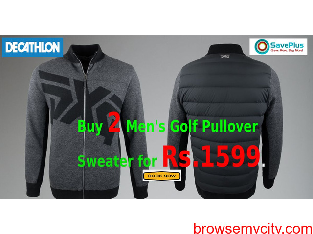 Buy 2 Men's Golf Pullover Sweater for Rs.1599 - 1/1