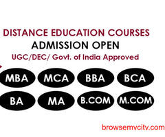 BBA Distance Education Courses.