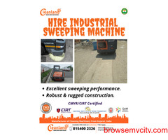 Hire Industrial Sweeping Machine
