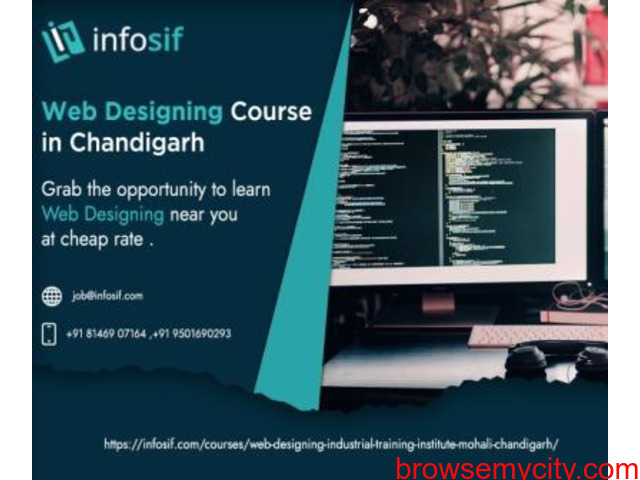 Web Designing Course in Chandigarh | INFOSIF - 1/1