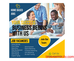 Candidates required for online work