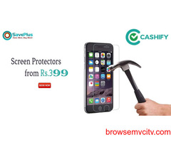 Buy unbreakable screen protectors from Rs.399