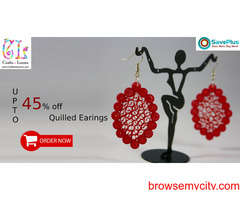Up to 45% off Quilled Earings