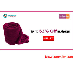 Up to 62% Off Blankets