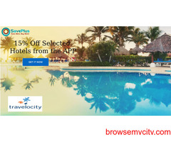 15% Off Selected Hotels from the APP