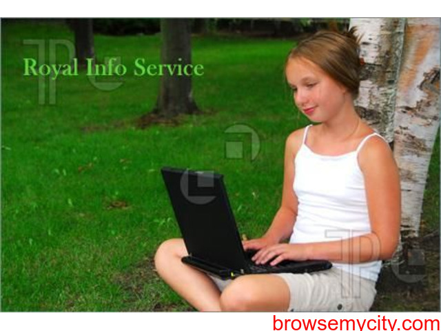 Royal Info Service Offered - 1/1