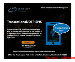 One of the Best Transactional SMS service provider in India