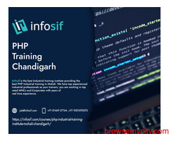 PHP Live Training Institute Chandigarh| INFOSIF