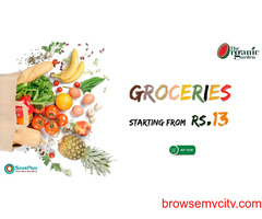 Groceries starting from Rs.13