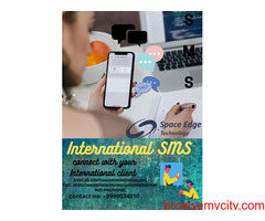We are one of the Best International SMS service provider in India.