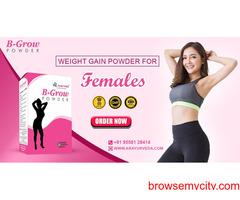 Weight gain powder for women