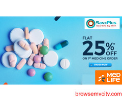Medlife Coupons, Deals, sales , and Codes: 25% off your First Medicine Order